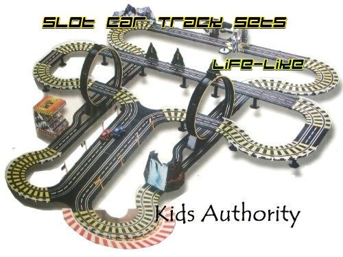 slot cars and track sets