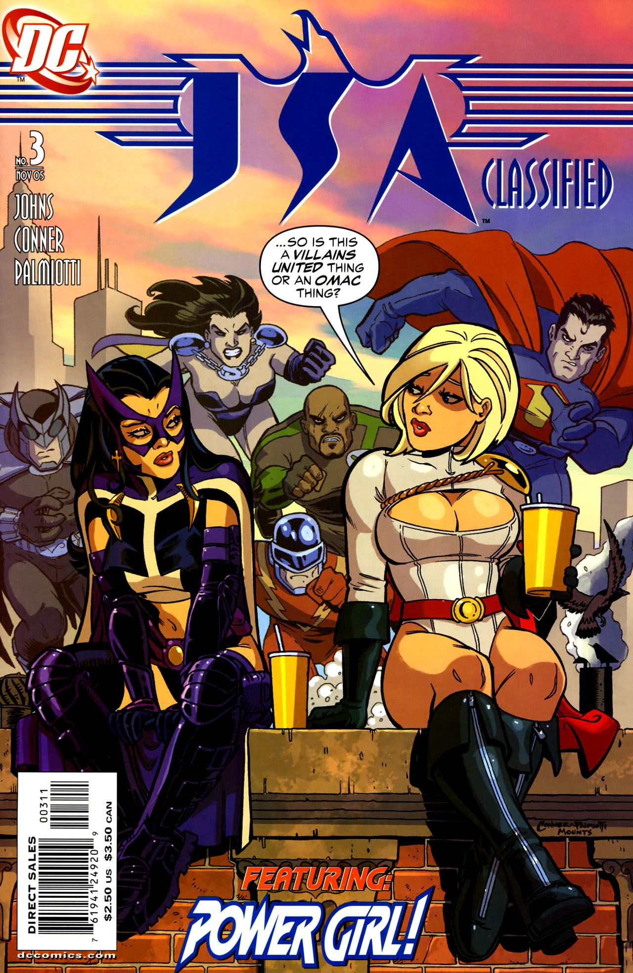Huntress/Power Girl