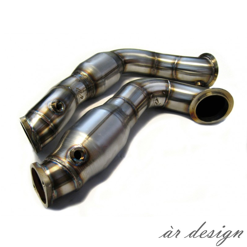 ♢ Sonic MS | AR Design Exhaust Downpipe Components (N54/N55